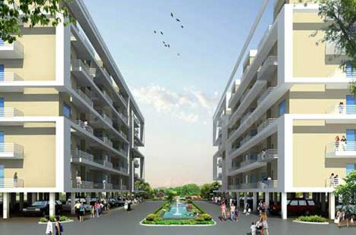 Project Image of 862 - 1255 Sq.ft 2 BHK Apartment for buy in Globus Green Bay