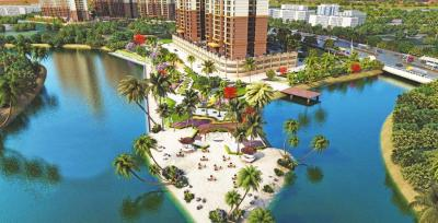 Gallery Cover Image of 1685 Sq.ft 3 BHK Apartment for buy in Paradise Sai World City, Panvel for 13300000