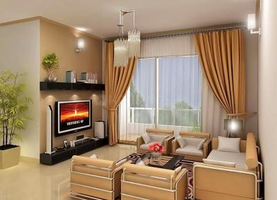 Gallery Cover Image of 1900 Sq.ft 3 BHK Apartment for rent in Prestige Sunnyside, Bhoganhalli for 42000