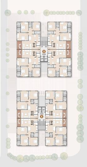 Project Image of 1047 - 1161 Sq.ft 3 BHK Apartment for buy in Jinmangal Jay Mangal Heights
