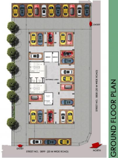 Project Image of 0 - 1655.0 Sq.ft 3 BHK Apartment for buy in Danish Veeyu Coperative Housing Society