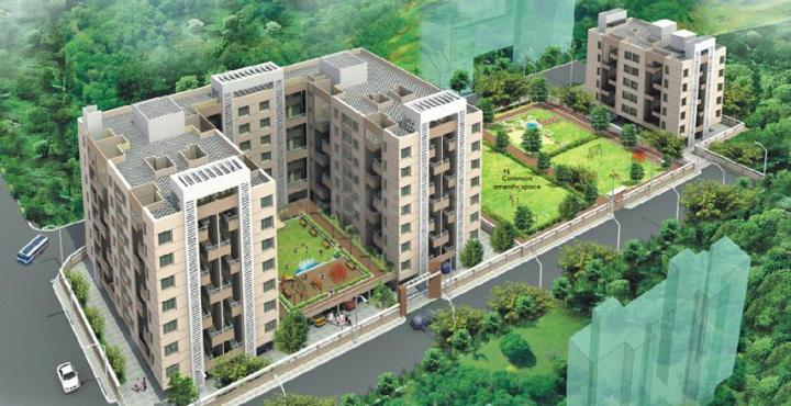 Project Image of 694 - 998 Sq.ft 1 BHK Apartment for buy in Alliance Nisarg