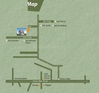 Project Image of 960.0 - 1198.02 Sq.ft 2 BHK Apartment for buy in Amaravathi Sai Nethra