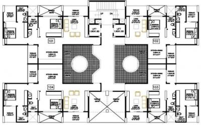 Bhandari Colonnade Apartment
