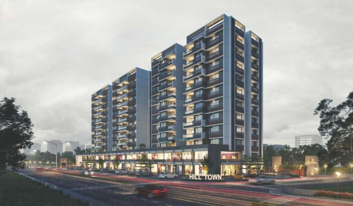 Project Image of 663.7 - 962.94 Sq.ft 2 BHK Apartment for buy in Balaji Hill Town