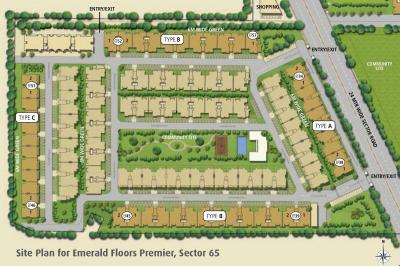 Gallery Cover Image of 1650 Sq.ft 4 BHK Independent Floor for rent in Emaar Emerald Floors Premier Phase 3, Sector 65 for 30000