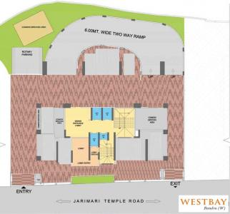 Project Image of 0 - 1265.0 Sq.ft 3 BHK Apartment for buy in Ekta WestBay