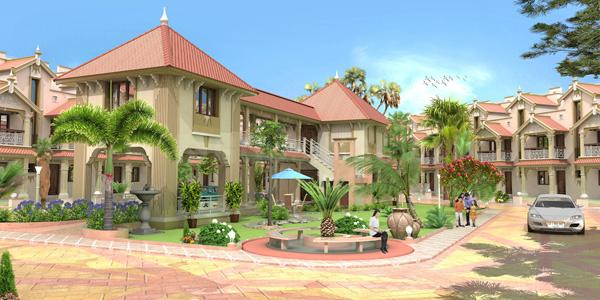 Project Image of 0 - 1566 Sq.ft 4 BHK Villa for buy in Soham Sanidhya Bunglows
