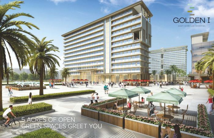 Project Image of 0 - 672.74 Sq.ft 3 BHK Apartment for buy in Ocean Golden I Phase I