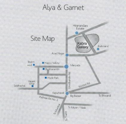 Project Image of 1070.0 - 1395.0 Sq.ft 2 BHK Apartment for buy in Kabra Alya and Garnet