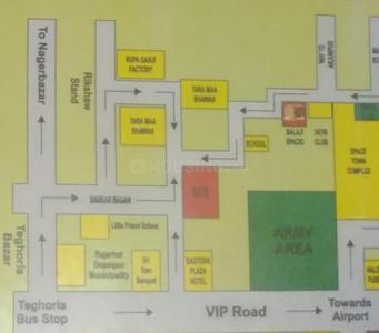 Project Image of 435.0 - 805.0 Sq.ft 1 BHK Apartment for buy in Salasar Balaji Nirman Balaji Rose