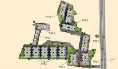 Project Image of 405 - 563 Sq.ft 1 RK Apartment for buy in Ashapura Poonam Hills