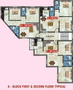 Project Image of 736 - 907 Sq.ft 2 BHK Apartment for buy in Shantha Flats