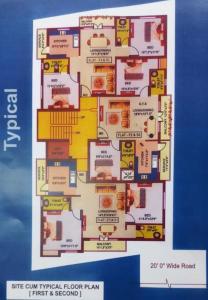 रायन एसकेवी फ्लैट्स में खरीदने के लिए 1000.0 - 1250.0 Sq.ft 2 BHK अपार्टमेंट प्रोजेक्ट  की तस्वीर