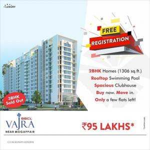 Project Image of 0 - 1306.0 Sq.ft 2 BHK Apartment for buy in BBCL Vajra