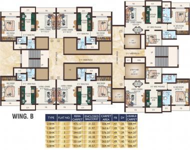 जेवीएम टियारा में खरीदने के लिए 346.17 - 473.18 Sq.ft 1 BHK अपार्टमेंट प्रोजेक्ट  की तस्वीर