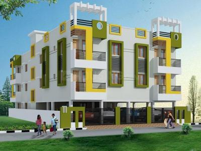 Gallery Cover Image of 1100 Sq.ft 3 BHK Apartment for rent in Deepika Galax, Madipakkam for 17000