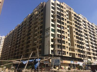 Gallery Cover Image of 710 Sq.ft 1 BHK Apartment for rent in Poonam Heights Wing C D And E, Virar West for 6500