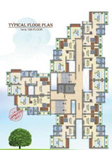 Project Image of 515.0 - 680.0 Sq.ft 1 BHK Apartment for buy in Kuber Aarambh