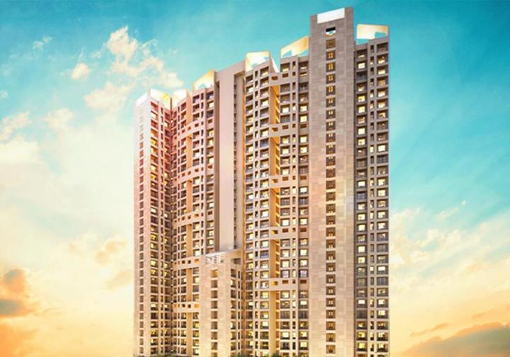Project Image of 370.0 - 425.0 Sq.ft 1 BHK Apartment for buy in Raunak Bliss Phase A