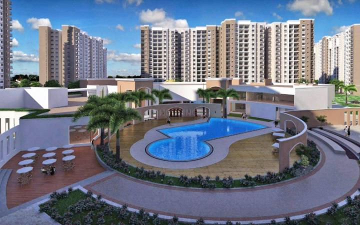 Project Image of 644.0 - 1376.0 Sq.ft 1 BHK Apartment for buy in Prestige Song Of The South