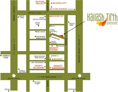 Project Image of 0 - 612.0 Sq.ft 1 BHK Apartment for buy in Shakti Kailash Tirth Avenue