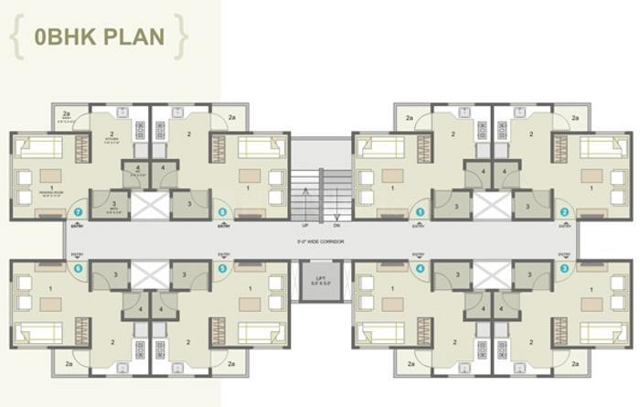 Project Image of 765.0 - 1350.0 Sq.ft 1 BHK Apartment for buy in Raison Naiya Apartment
