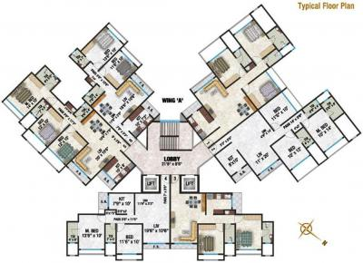 Gallery Cover Image of 1500 Sq.ft 3 BHK Apartment for rent in Neha Heena Gaurav Jewels, Goregaon East for 50000