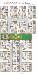 Project Image of 0 - 620.0 Sq.ft 2 BHK Apartment for buy in Cresco Defence Residency