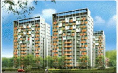 Gallery Cover Image of 1200 Sq.ft 3 BHK Apartment for rent in Shrachi Greenwood Sonata, Rajarhat for 20000