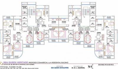 Project Image of 1185.0 - 2135.0 Sq.ft 2 BHK Apartment for buy in National Sea Queen Heritage