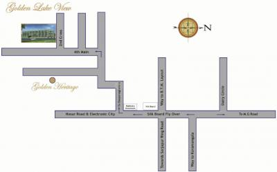 Project Image of 0 - 1180 Sq.ft 2 BHK Apartment for buy in Golden Lake View