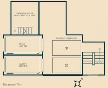 नेऊमेक ऑरा में खरीदने के लिए 575.0 - 946.0 Sq.ft 1 BHK अपार्टमेंट प्रोजेक्ट  की तस्वीर