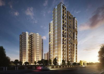 Gallery Cover Image of 580 Sq.ft 1 BHK Apartment for rent in Kasarvadavali, Thane West for 14000