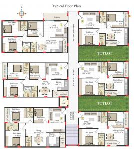 Project Image of 825.0 - 1162.0 Sq.ft 2 BHK Apartment for buy in Shriya Ambience