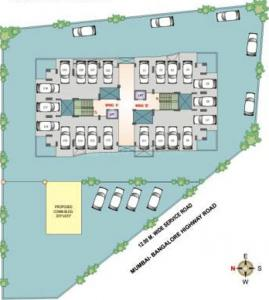 Project Image of 572 - 935 Sq.ft 1 BHK Apartment for buy in Krishnaleela Laxmi Ganga Heights