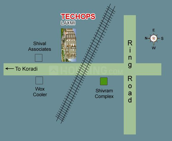 Project Image of 868.0 - 1527.0 Sq.ft 2 BHK Apartment for buy in Techops Techops Laxmi