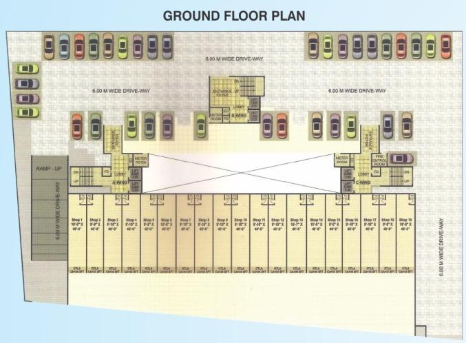 Project Image of 720.0 - 1420.0 Sq.ft 1 BHK Apartment for buy in Proviso Builders Heights