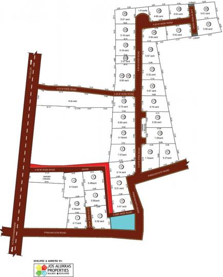 Project Image of 600.0 - 1400.0 Sq.ft Residential Plot Plot for buy in Jos Golden Melody
