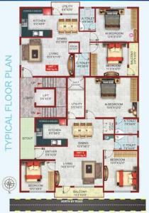शिव एसजीएस प्रिंस में खरीदने के लिए 940.0 - 1310.0 Sq.ft 2 BHK अपार्टमेंट प्रोजेक्ट  की तस्वीर