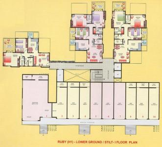 Project Image of 972 - 1354 Sq.ft 2 BHK Apartment for buy in Dugad Manik Moti