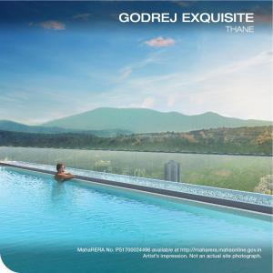 Gallery Cover Image of 820 Sq.ft 2 BHK Apartment for buy in Godrej Exquisite, Thane West for 11600000