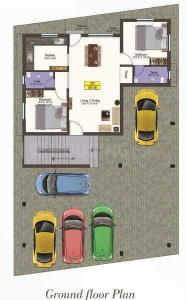 Project Image of 876.0 - 931.0 Sq.ft 2 BHK Apartment for buy in Bhagavathy Subramani Enclave