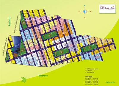 Residential Lands for Sale in Fortune NRI Township