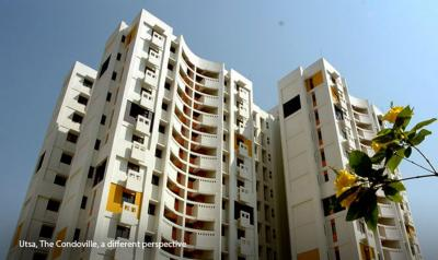 Gallery Cover Image of 830 Sq.ft 2 BHK Apartment for rent in Ambuja Utsa The Condoville, New Town for 16000