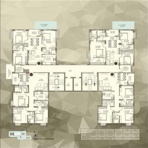 Gallery Cover Image of 1000 Sq.ft 3 BHK Apartment for rent in Avishi Trident, Satchashipara for 12000