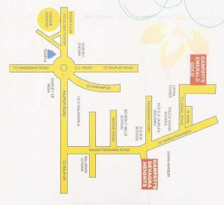 Project Image of 1020.0 - 1132.0 Sq.ft 2 BHK Apartment for buy in Ganpati Builder Heights