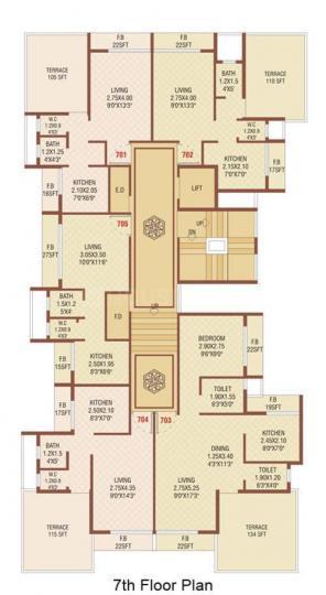Project Image of 600 - 900 Sq.ft 1 BHK Apartment for buy in Shreeji Shreeji Solitaire