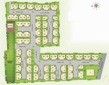 Gallery Cover Image of 555 Sq.ft 1 BHK Independent House for buy in Shree Siddhivinayak Gokuldham Residency II, Sherkhi for 2800000