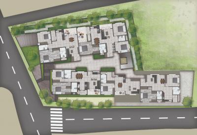 प्रेरणा साईवेन सनसेट बुलेवार्ड में खरीदने के लिए 1031.0 - 1628.0 Sq.ft 1 BHK अपार्टमेंट प्रोजेक्ट  की तस्वीर